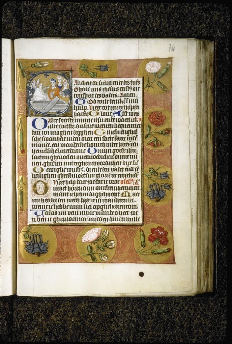 Lyon, Bibl. mun., ms. 5999, f. 074 - vue 1