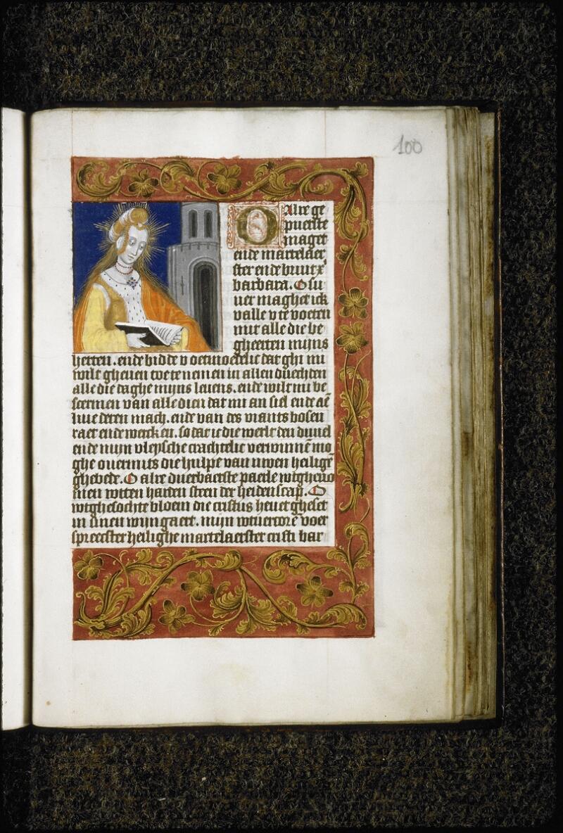 Lyon, Bibl. mun., ms. 5999, f. 100 - vue 1