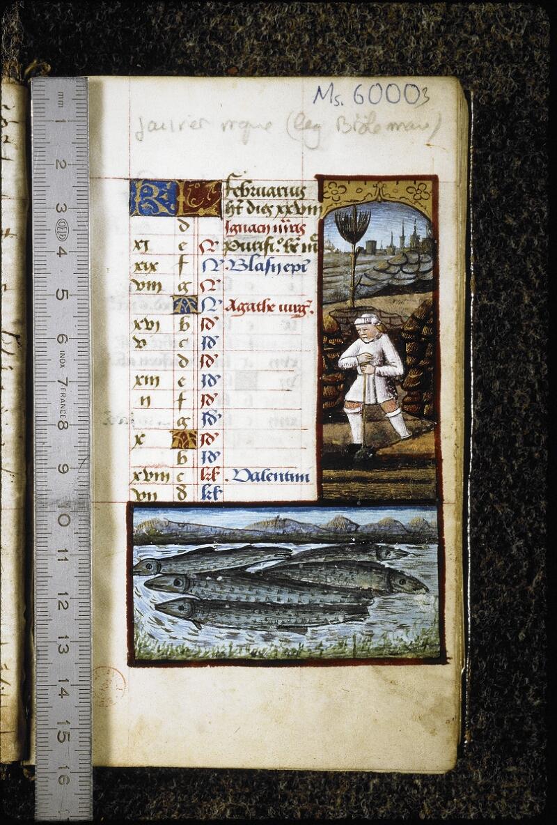 Lyon, Bibl. mun., ms. 6000, f. 003 - vue 1