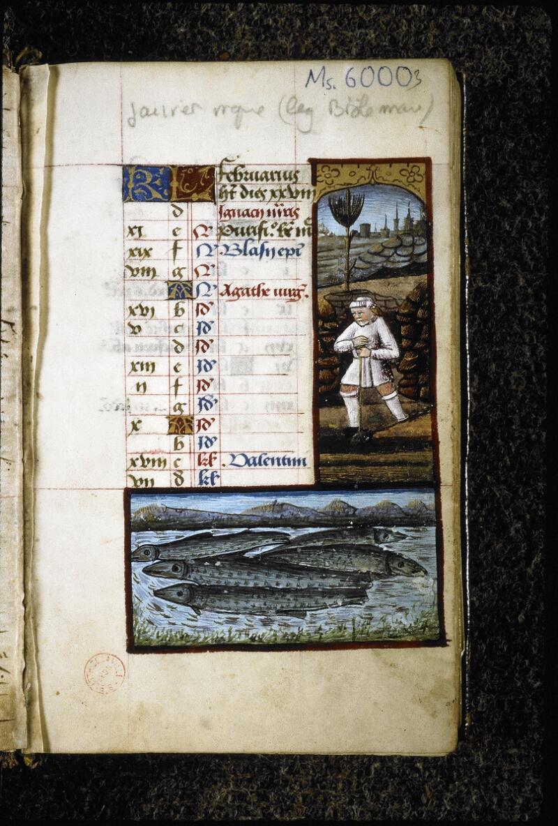 Lyon, Bibl. mun., ms. 6000, f. 003 - vue 2