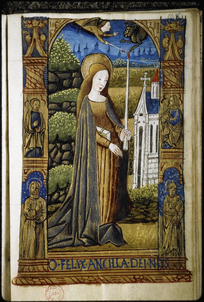 Lyon, Bibl. mun., ms. 6000, f. 166