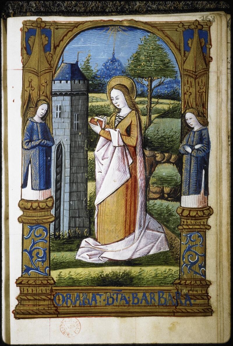 Lyon, Bibl. mun., ms. 6000, f. 168