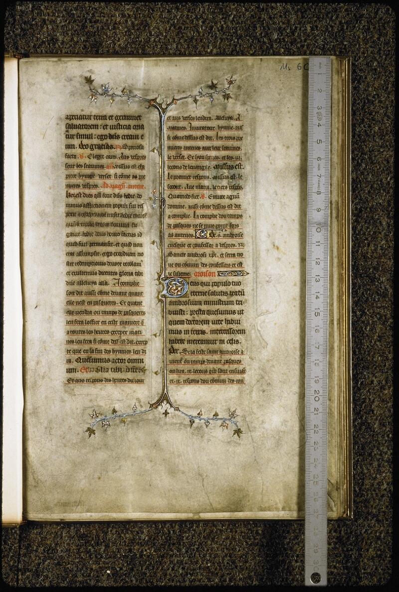 Lyon, Bibl. mun., ms. 6020, f. 001 - vue 1