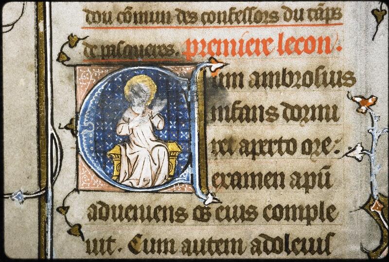 Lyon, Bibl. mun., ms. 6020, f. 001v - vue 1