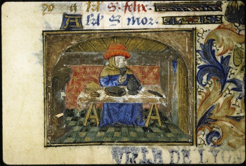 Lyon, Bibl. mun., ms. 6022, f. 001 - vue 4