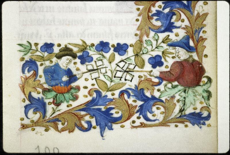 Lyon, Bibl. mun., ms. 6022, f. 100