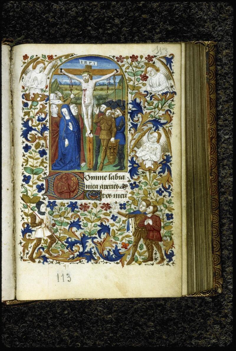 Lyon, Bibl. mun., ms. 6022, f. 113 - vue 1