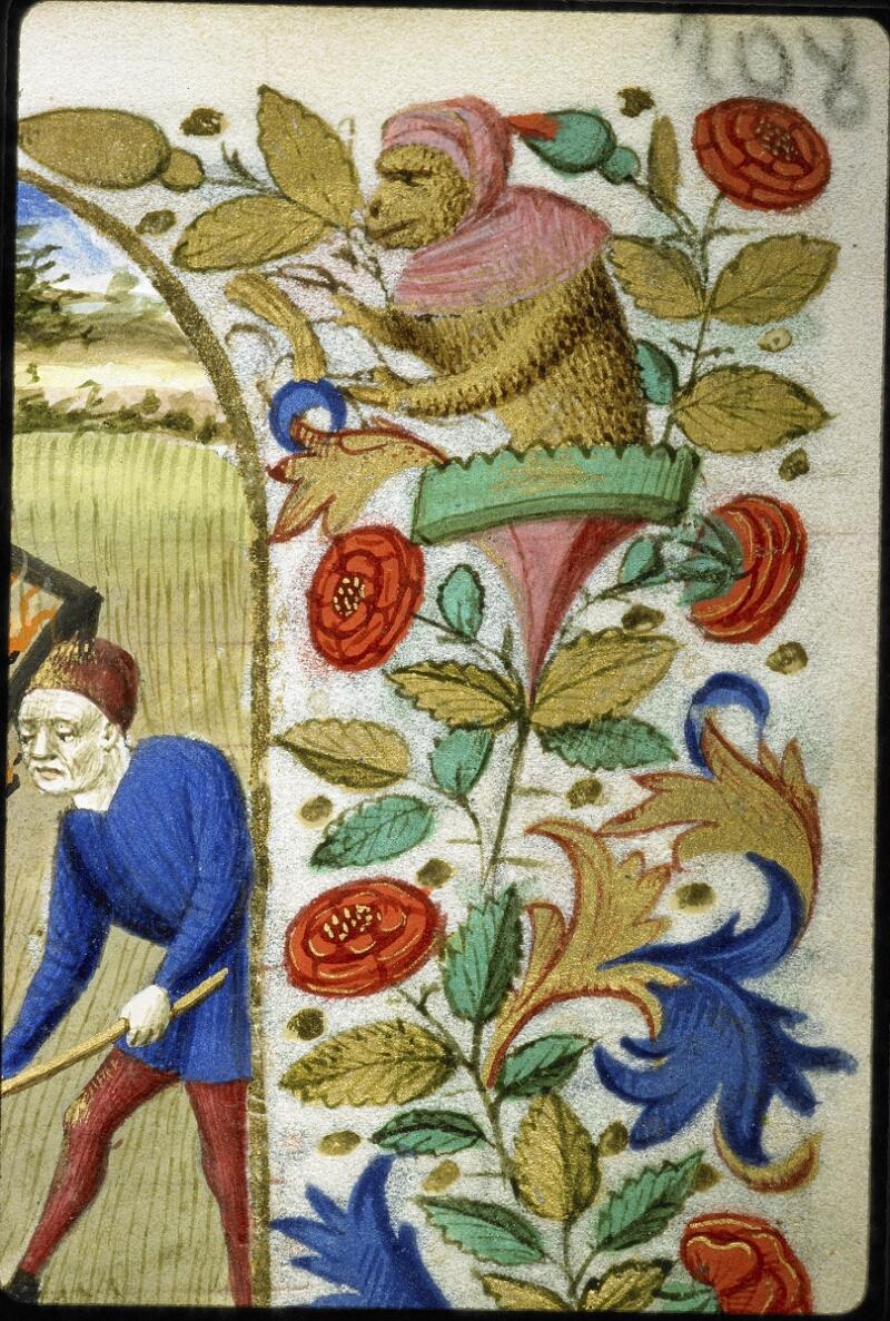 Lyon, Bibl. mun., ms. 6022, f. 208 - vue 2