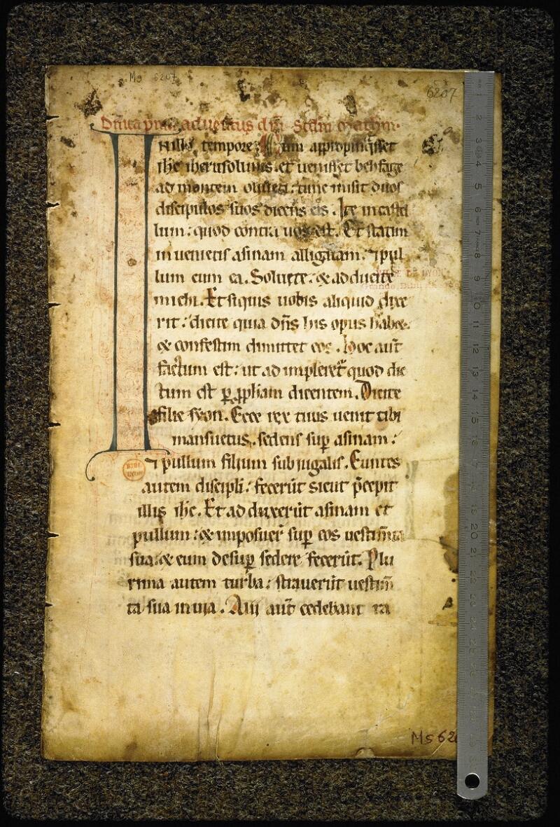 Lyon, Bibl. mun., ms. 6207, f. 001 - vue 1