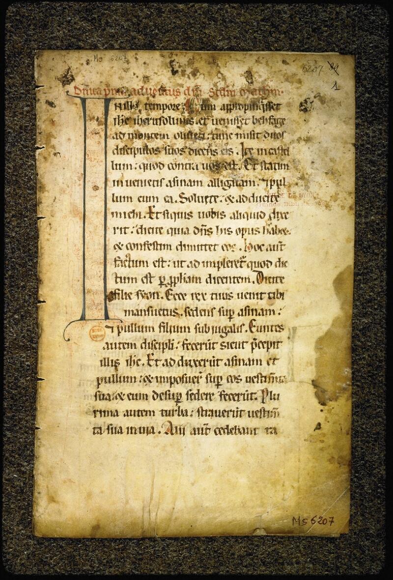 Lyon, Bibl. mun., ms. 6207, f. 001 - vue 2