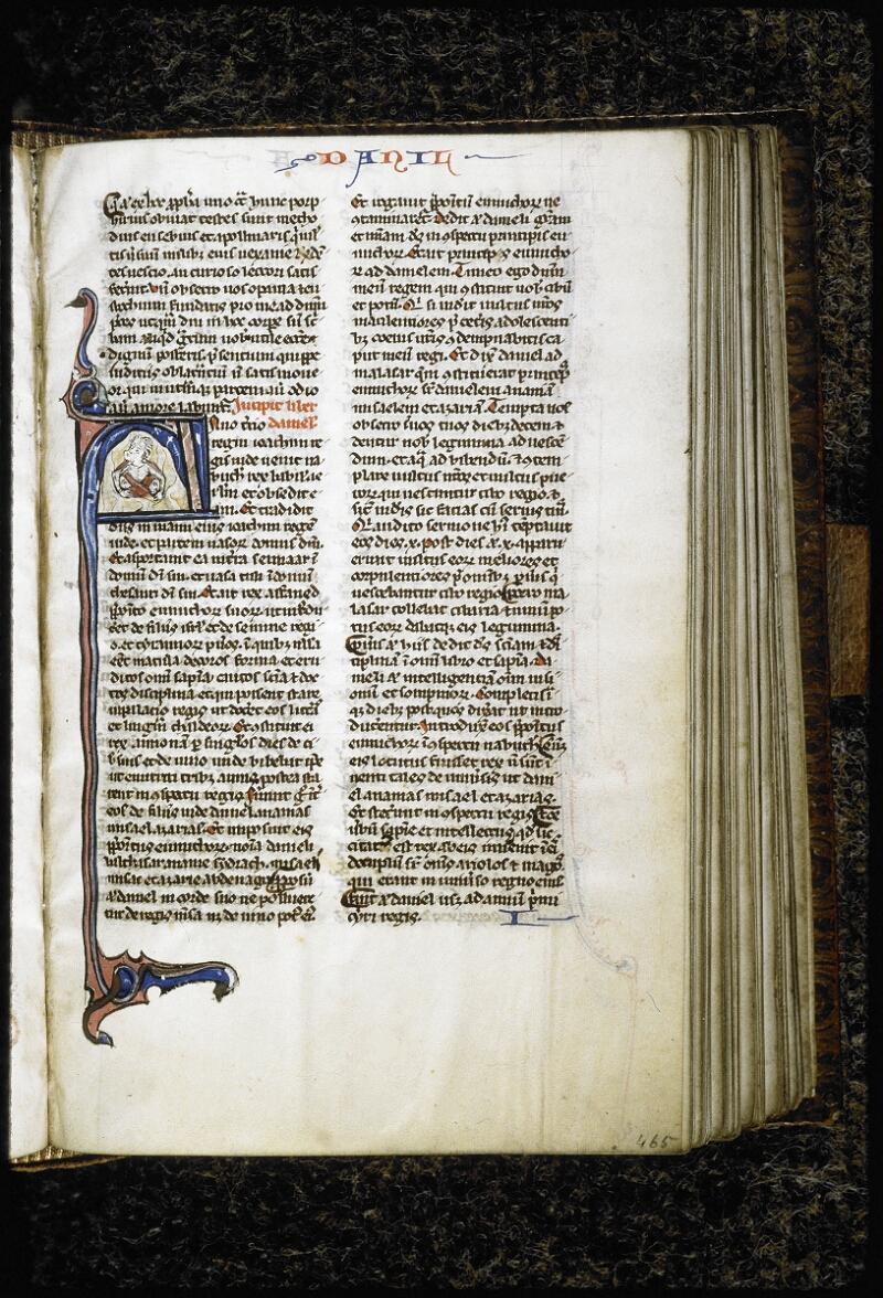 Lyon, Bibl. mun., ms. 6260, f. 465 - vue 1