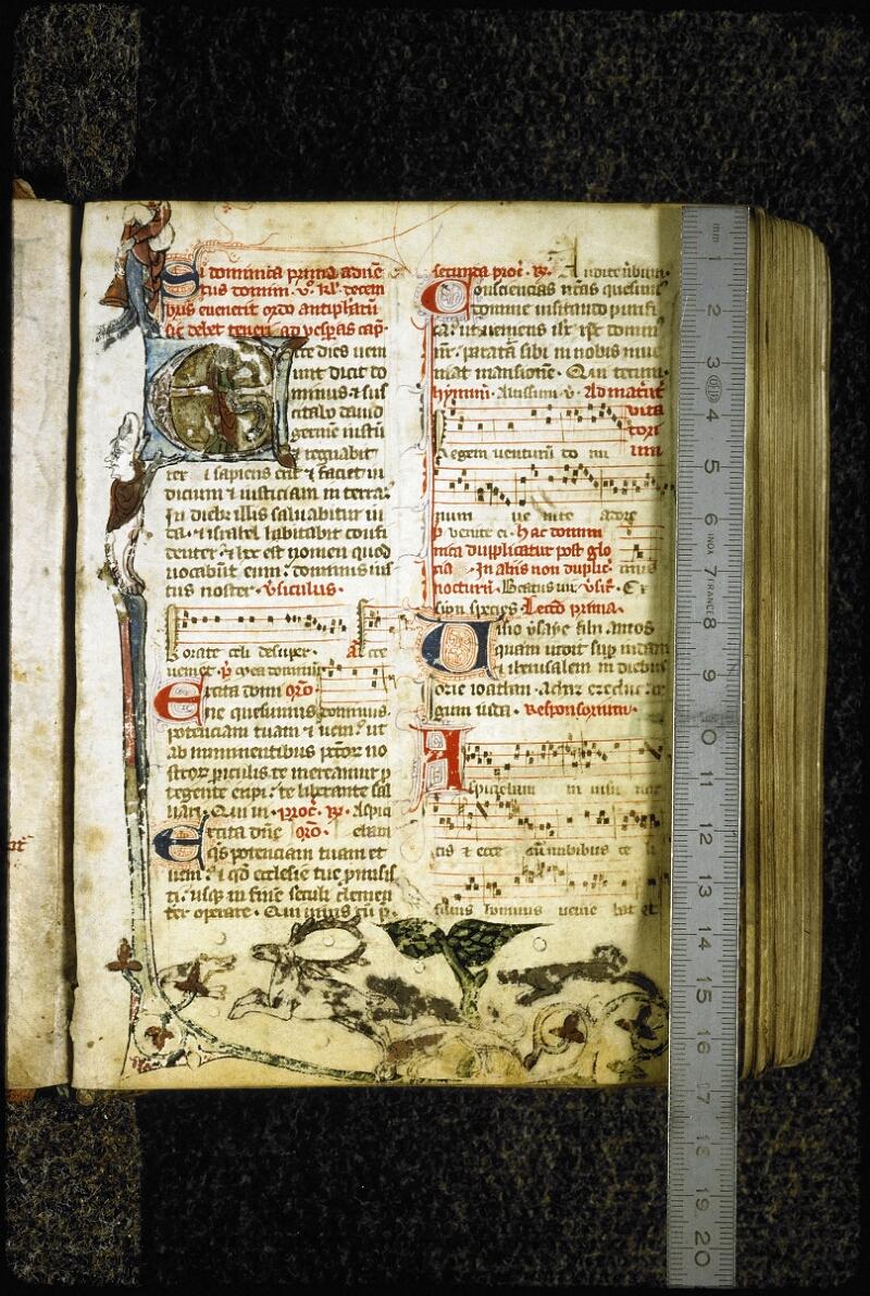 Lyon, Bibl. mun., ms. 6699, f. 001 - vue 1