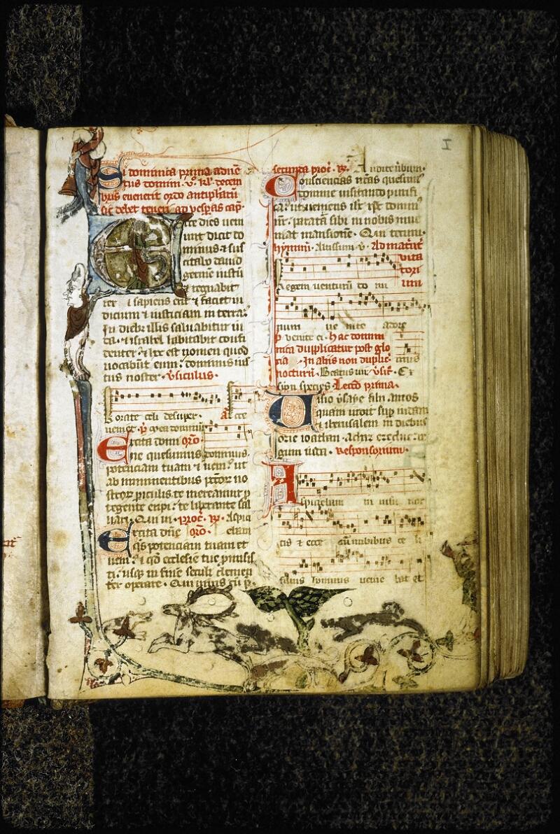 Lyon, Bibl. mun., ms. 6699, f. 001 - vue 2