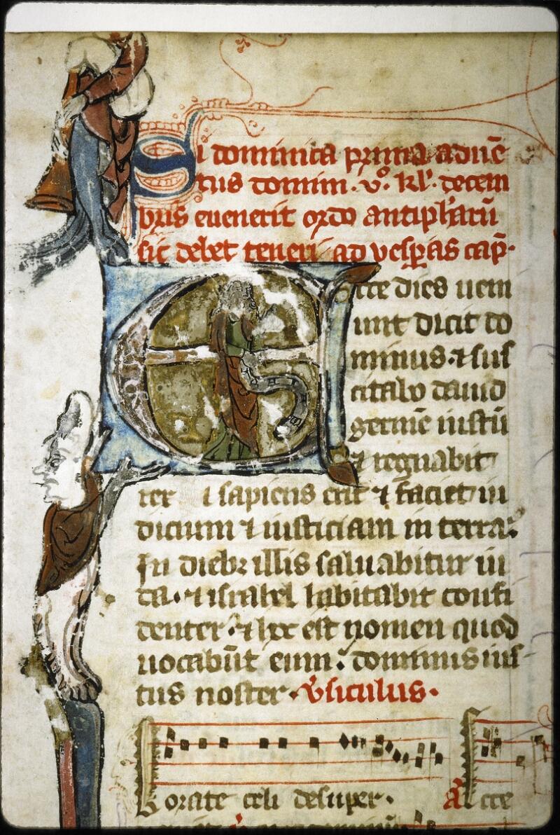 Lyon, Bibl. mun., ms. 6699, f. 001 - vue 3