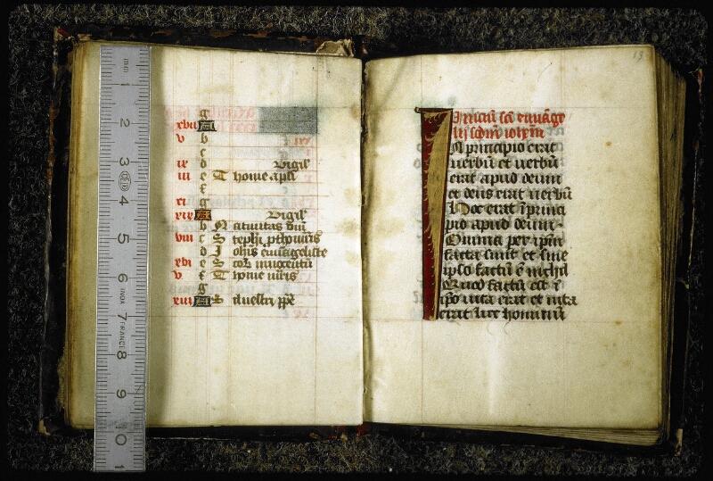 Lyon, Bibl. mun., ms. 6849, f. 012v-013 - vue 1