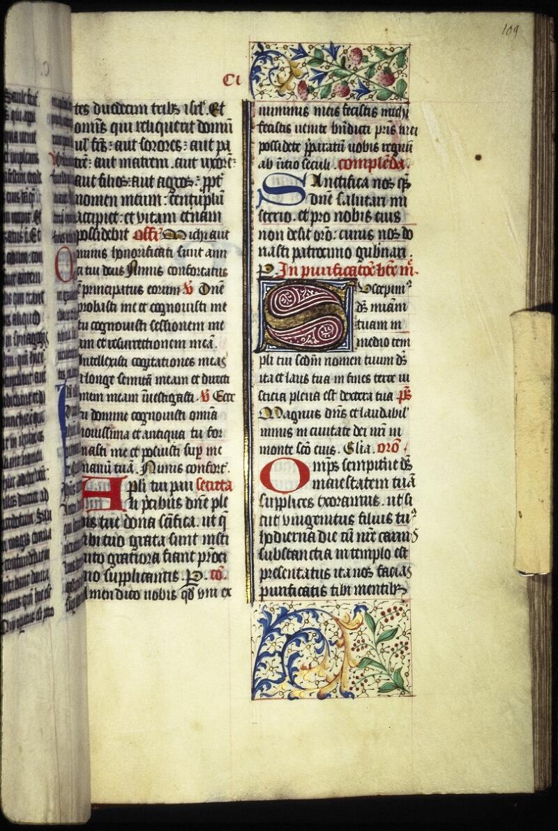 Lyon, Bibl. mun., ms. Coste 0101, f. 109