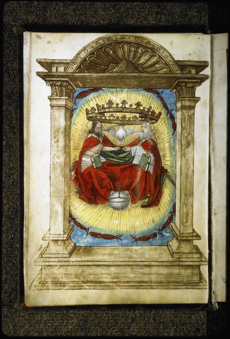 Lyon, Bibl. mun., ms. Coste 0355, f. 001v - vue 1