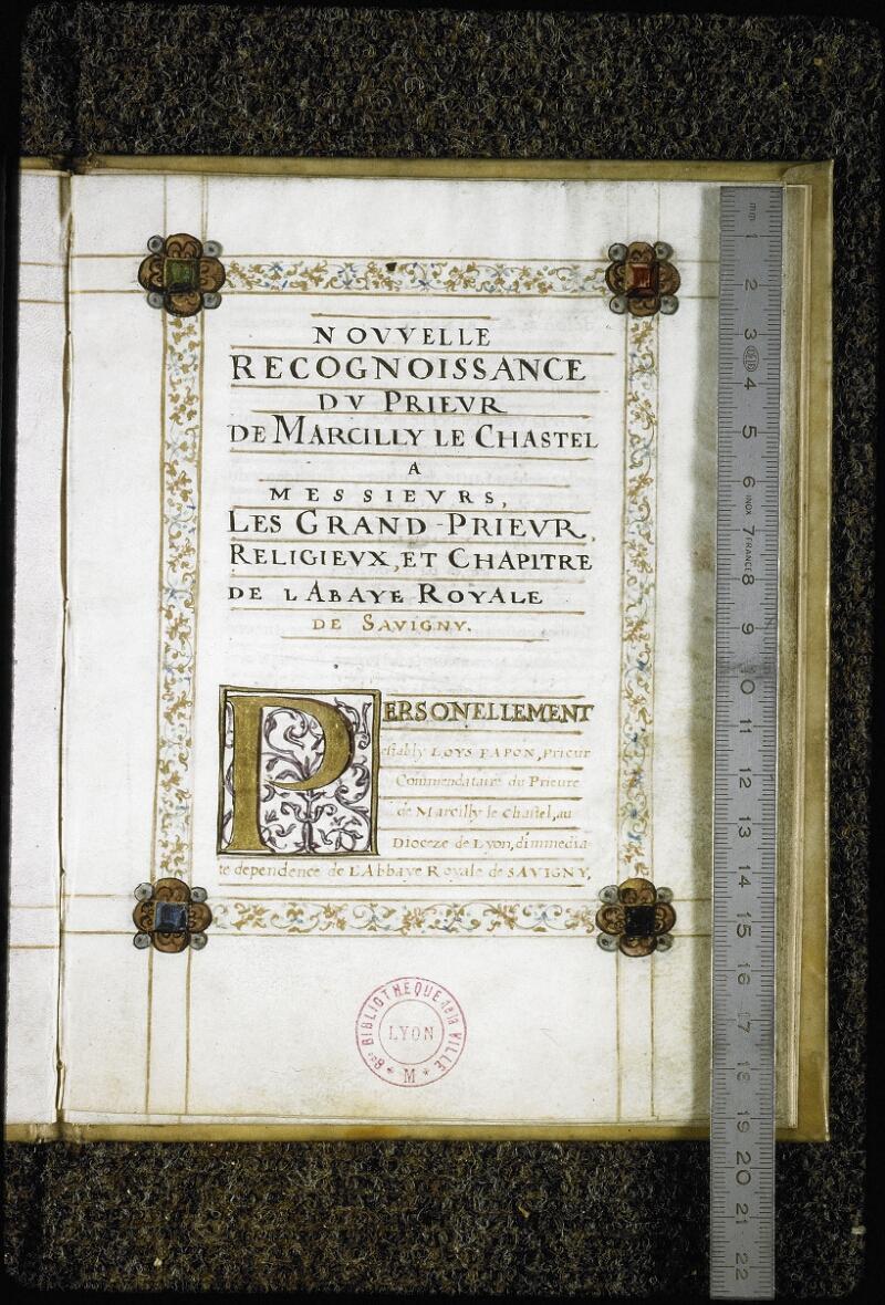 Lyon, Bibl. mun., ms. Coste 0396, f. 008 - vue 1