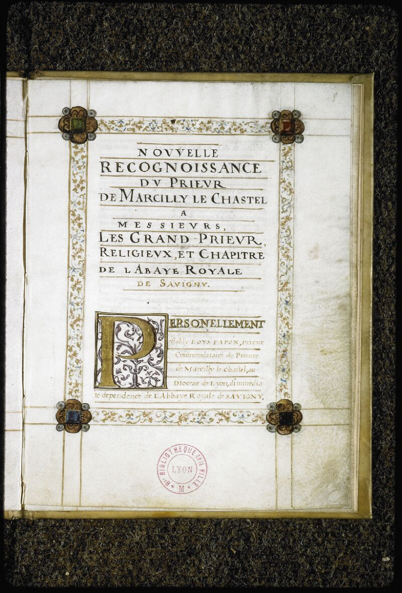 Lyon, Bibl. mun., ms. Coste 0396, f. 008 - vue 2