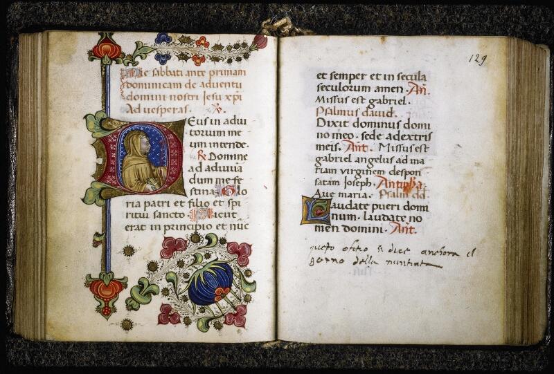 Lyon, Bibl. mun., ms. Palais des Arts 020, f. 128v-129