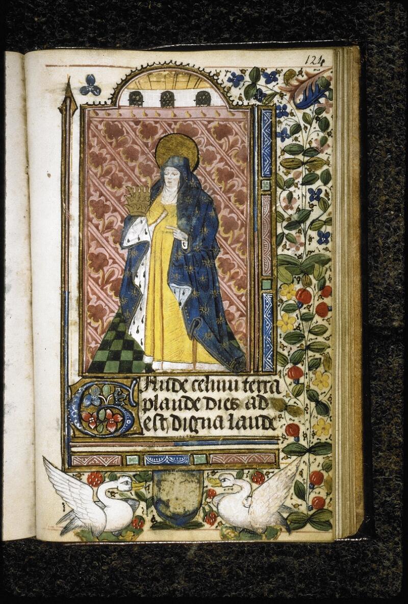 Lyon, Bibl. mun., ms. Palais des Arts 021, f. 124 - vue 1