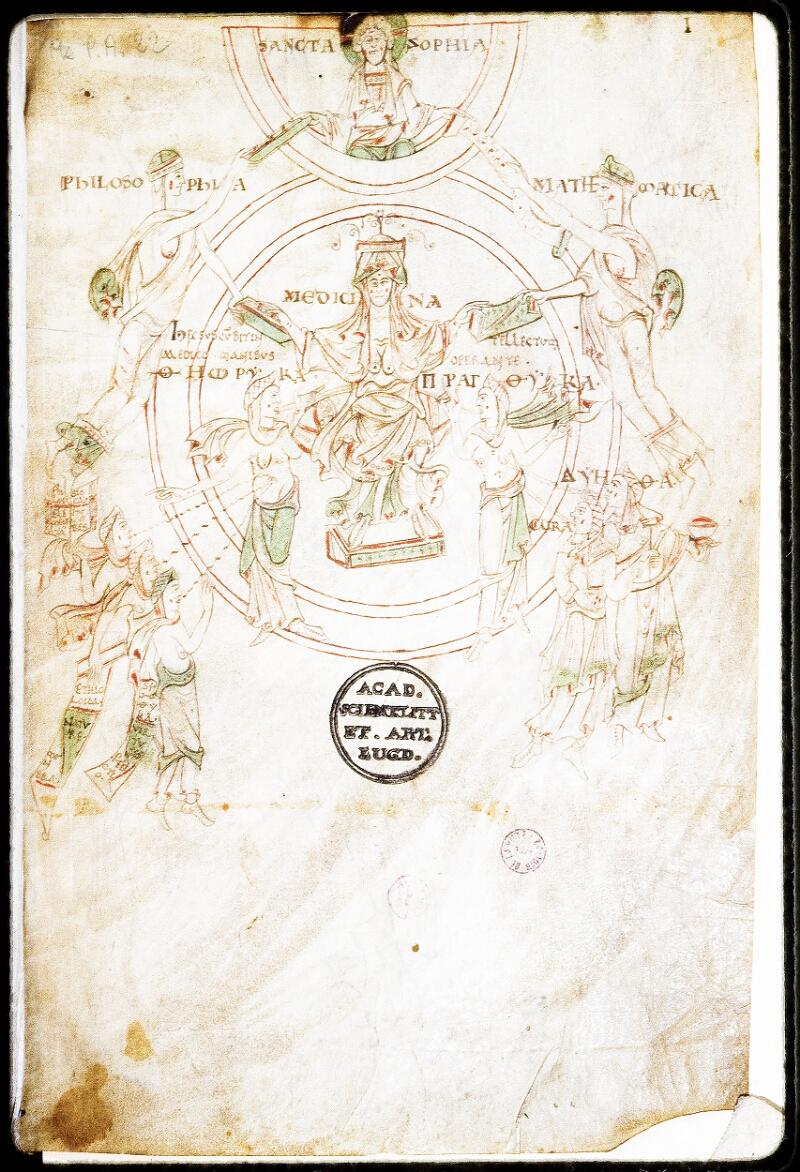 Lyon, Bibl. mun., ms. Palais des Arts 022, f. 001 - vue 1