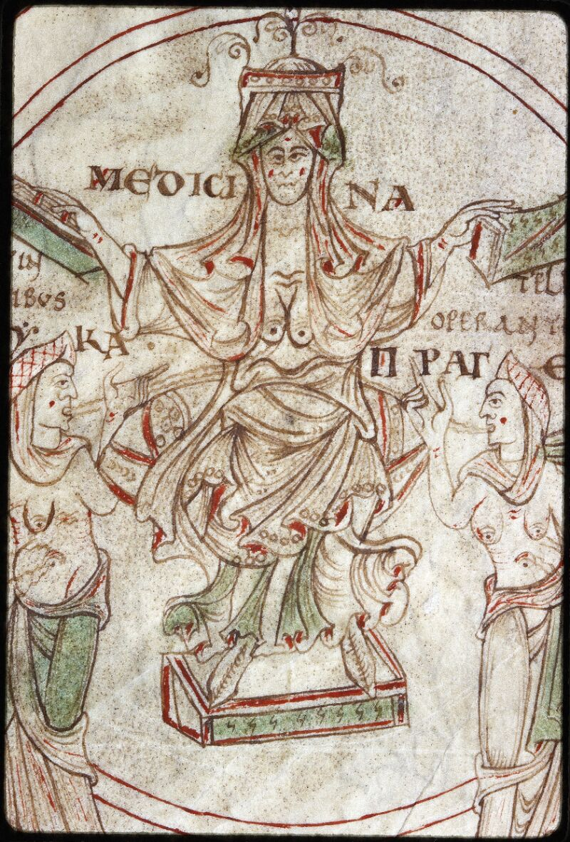 Lyon, Bibl. mun., ms. Palais des Arts 022, f. 001 - vue 3
