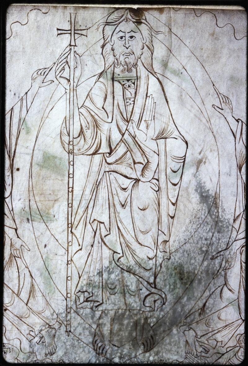 Lyon, Bibl. mun., ms. Palais des Arts 022, f. 001v - vue 2