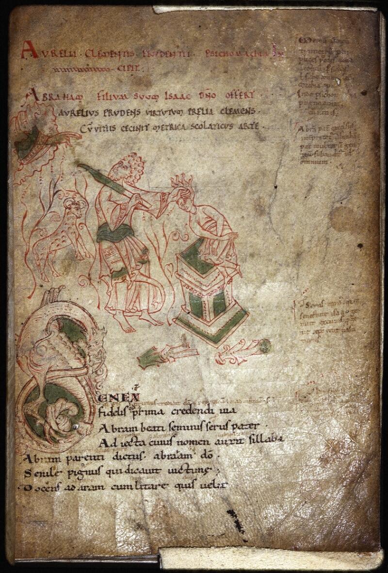 Lyon, Bibl. mun., ms. Palais des Arts 022, f. 002 - vue 1