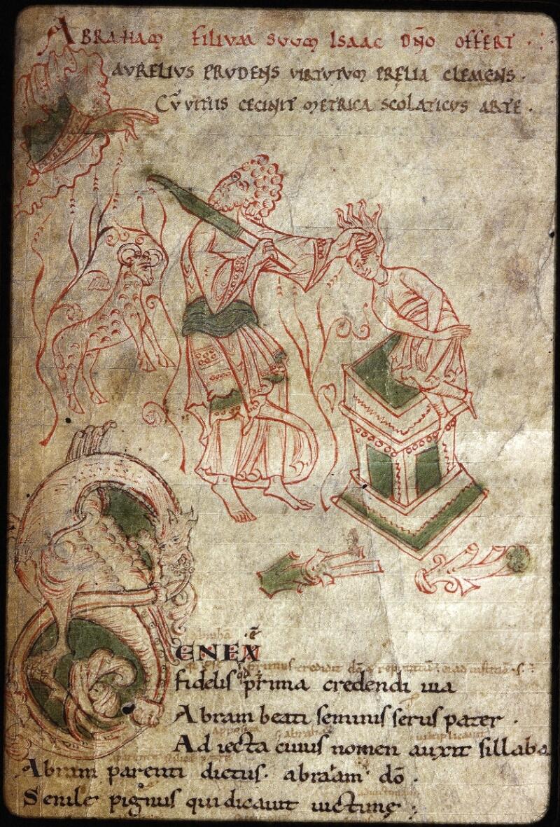 Lyon, Bibl. mun., ms. Palais des Arts 022, f. 002 - vue 2