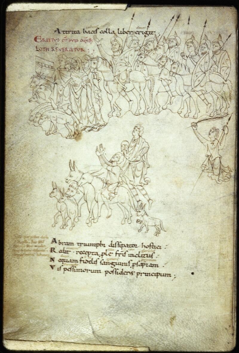 Lyon, Bibl. mun., ms. Palais des Arts 022, f. 003v - vue 1