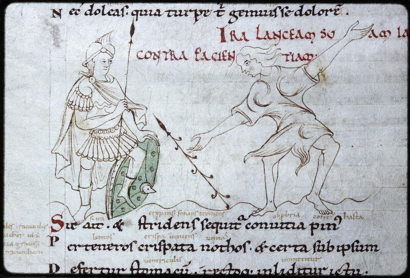 Lyon, Bibl. mun., ms. Palais des Arts 022, f. 004v - vue 3
