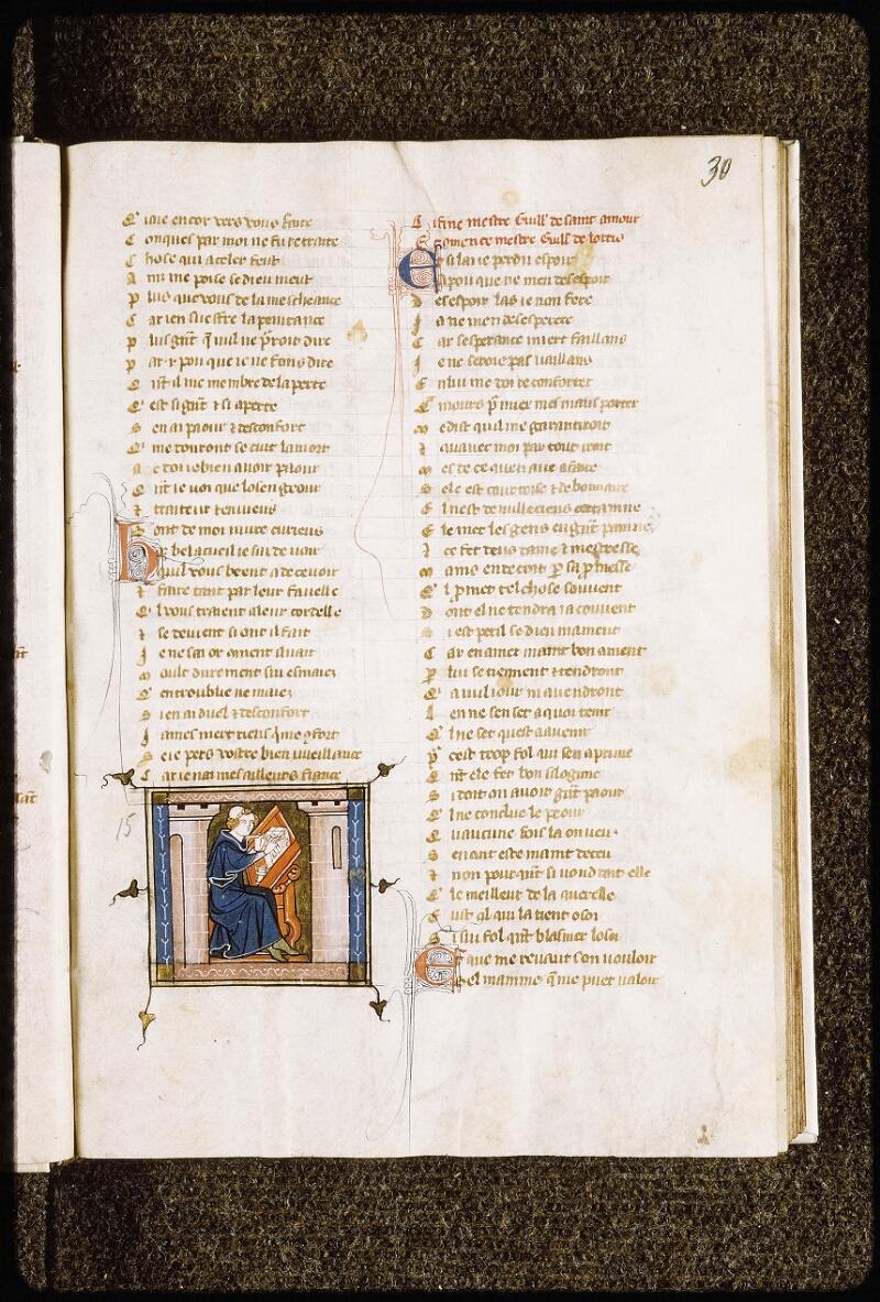 Lyon, Bibl. mun., ms. Palais des Arts 023, f. 030 - vue 1