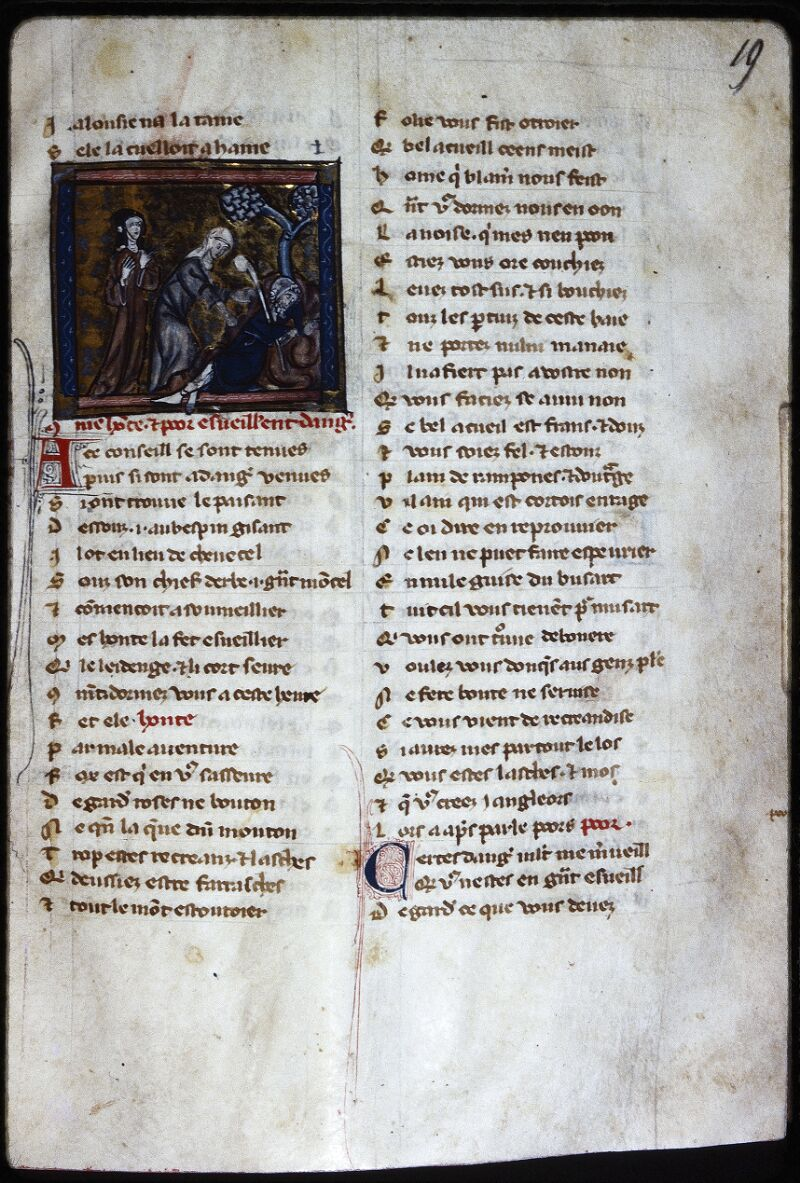 Lyon, Bibl. mun., ms. Palais des Arts 024, f. 019 - vue 1