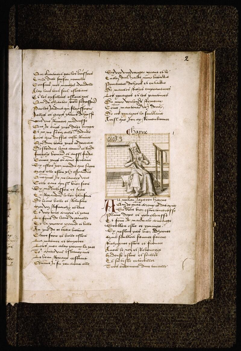 Lyon, Bibl. mun., ms. Palais des Arts 025, f. 002 - vue 2