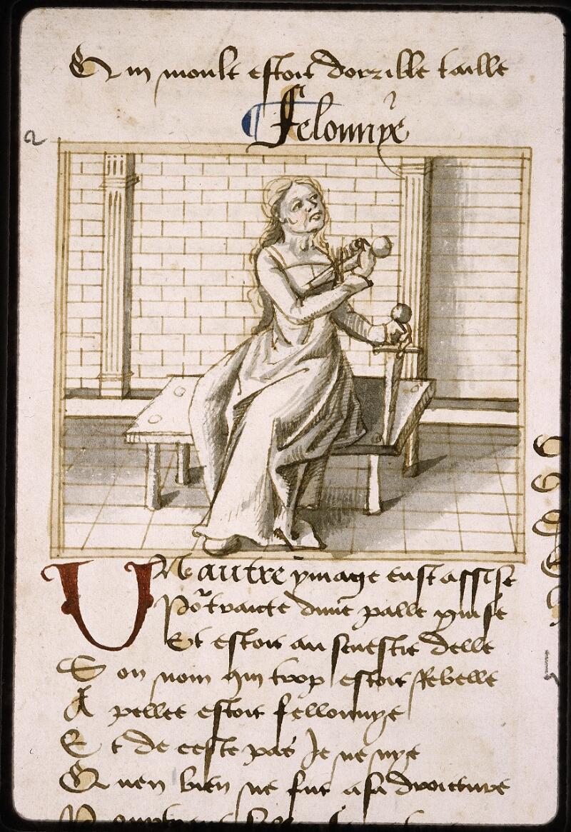 Lyon, Bibl. mun., ms. Palais des Arts 025, f. 002v - vue 1