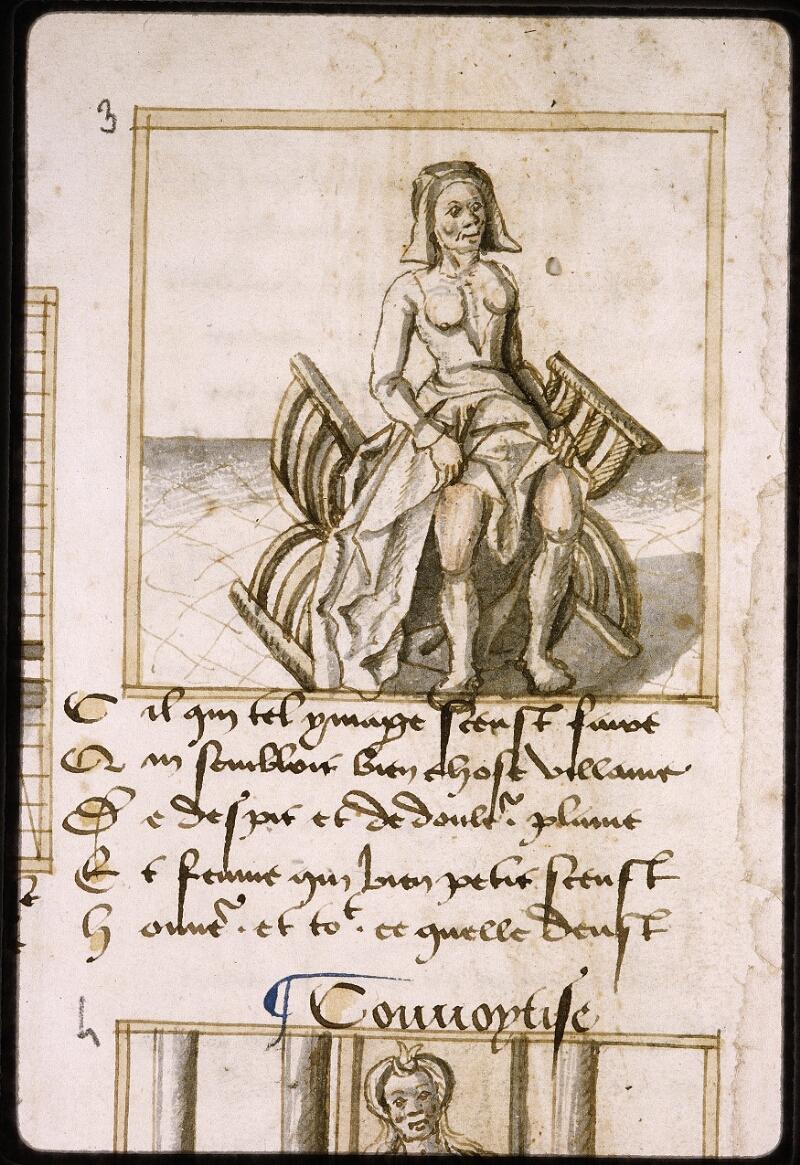 Lyon, Bibl. mun., ms. Palais des Arts 025, f. 002v - vue 2