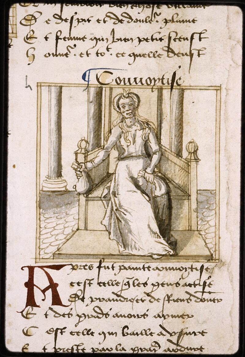 Lyon, Bibl. mun., ms. Palais des Arts 025, f. 002v - vue 3