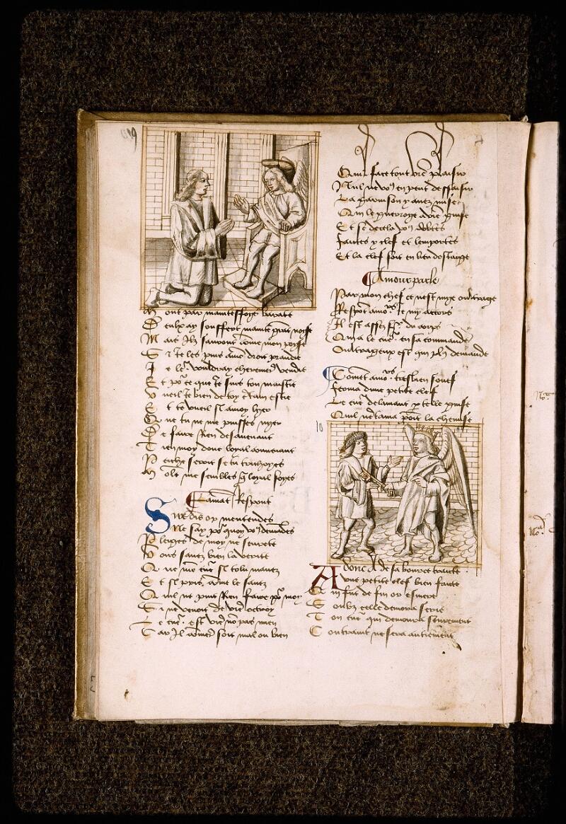 Lyon, Bibl. mun., ms. Palais des Arts 025, f. 010v - vue 1