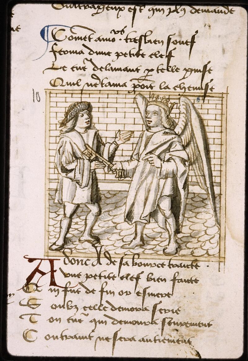 Lyon, Bibl. mun., ms. Palais des Arts 025, f. 010v - vue 3