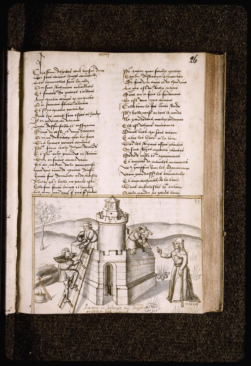 Lyon, Bibl. mun., ms. Palais des Arts 025, f. 026 - vue 1