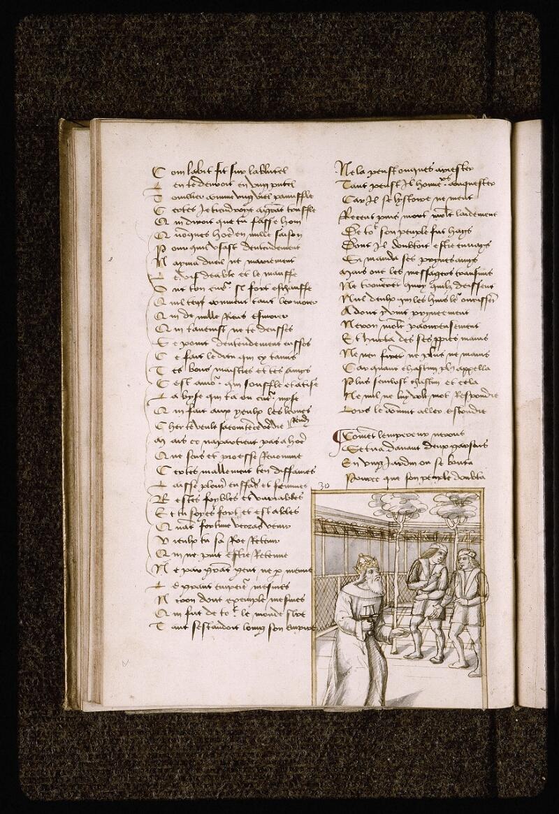 Lyon, Bibl. mun., ms. Palais des Arts 025, f. 046v - vue 1