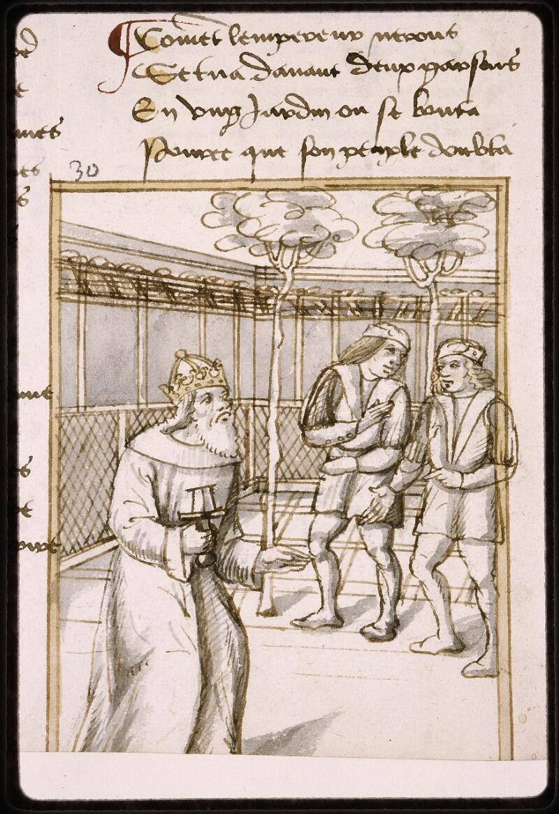 Lyon, Bibl. mun., ms. Palais des Arts 025, f. 046v - vue 2