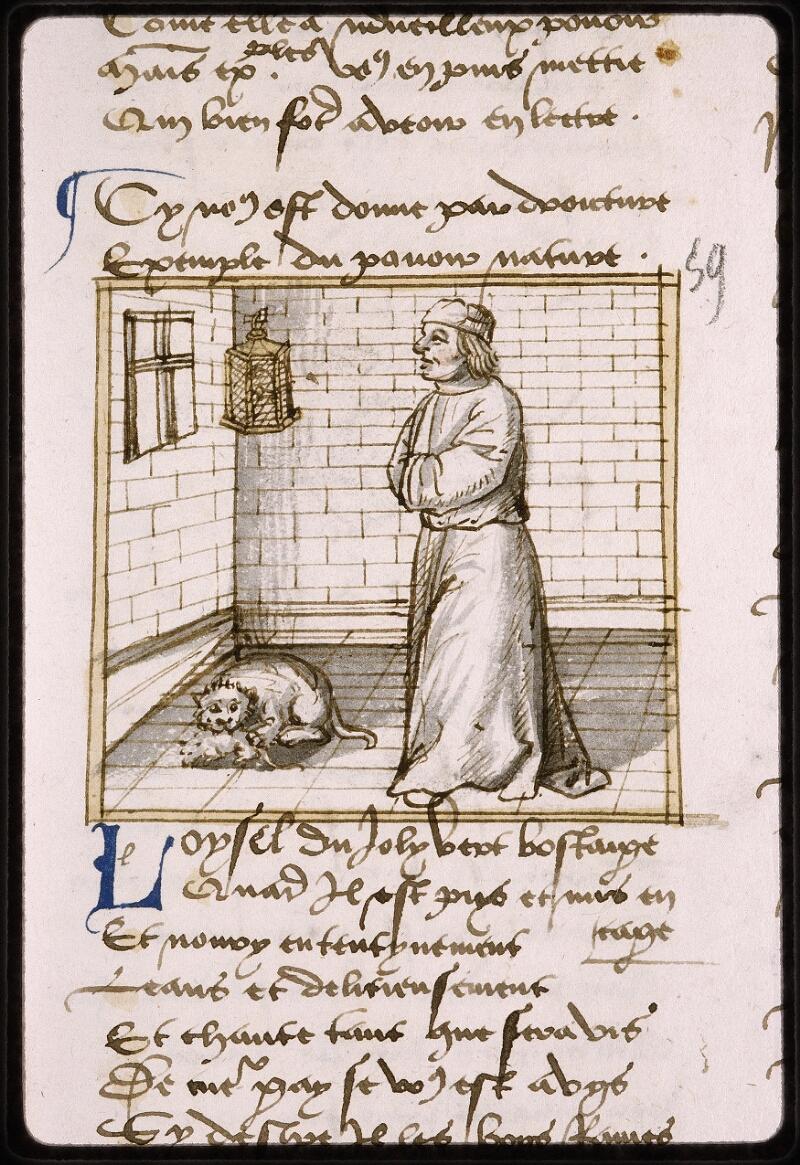 Lyon, Bibl. mun., ms. Palais des Arts 025, f. 109