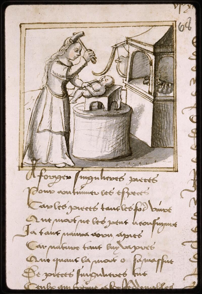 Lyon, Bibl. mun., ms. Palais des Arts 025, f. 137 - vue 1