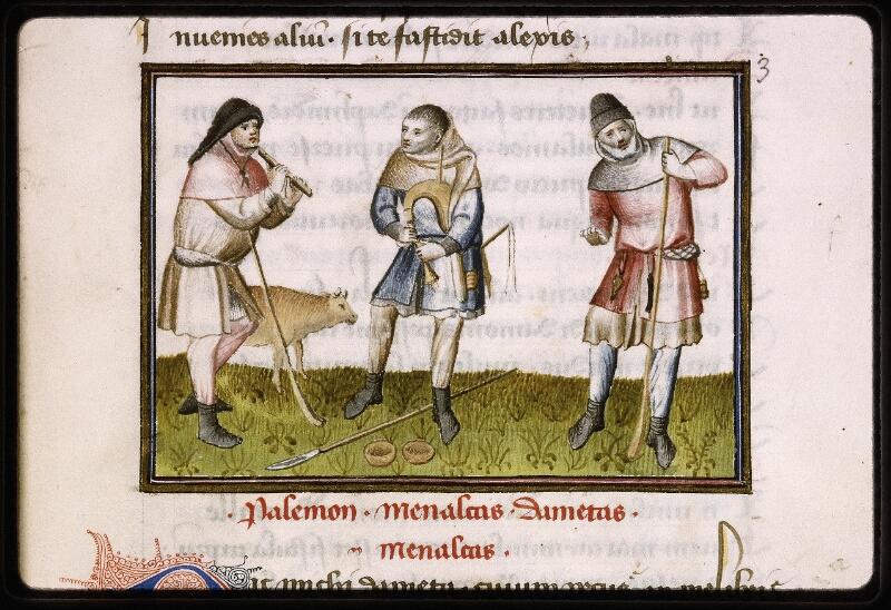 Lyon, Bibl. mun., ms. Palais des Arts 027, f. 005 - vue 2