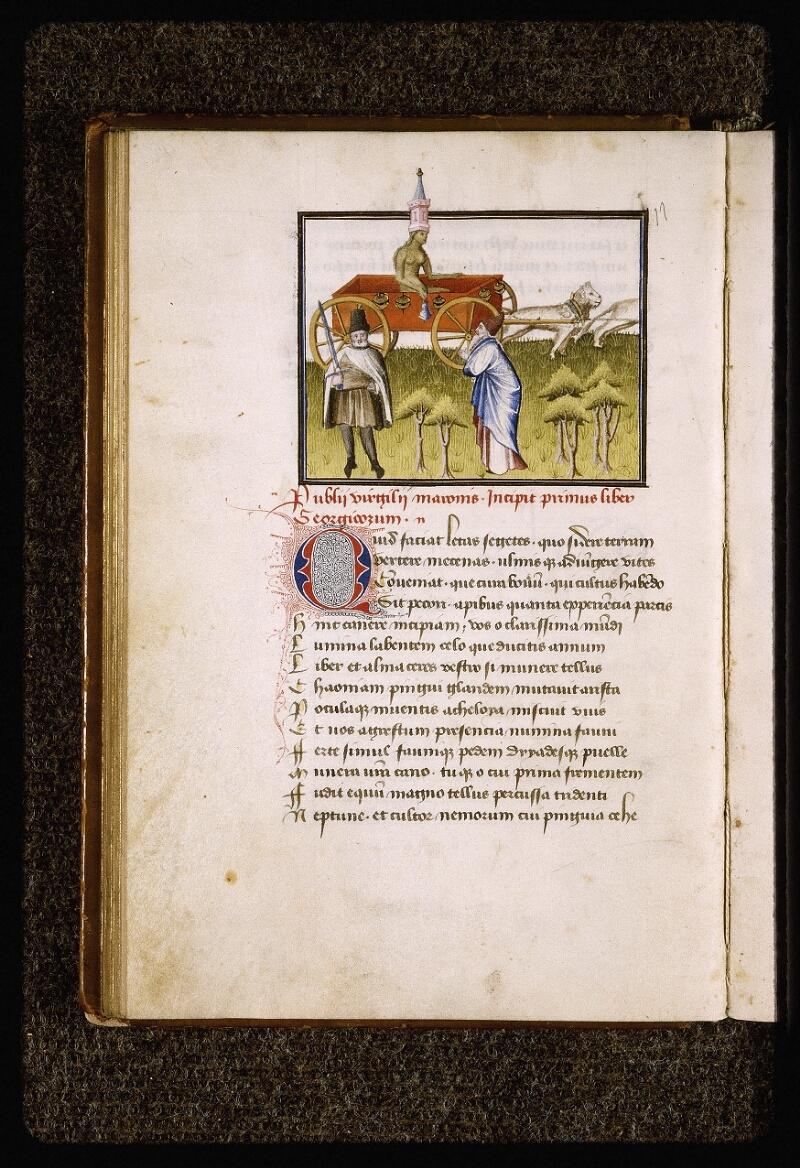 Lyon, Bibl. mun., ms. Palais des Arts 027, f. 020v - vue 1