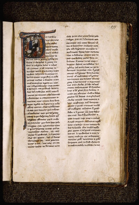 Lyon, Bibl. mun., ms. Palais des Arts 029, f. 299 - vue 1
