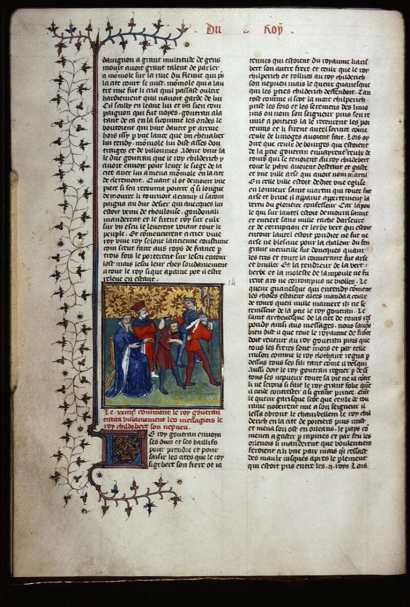 Lyon, Bibl. mun., ms. Palais des Arts 030, f. 046v - vue 1