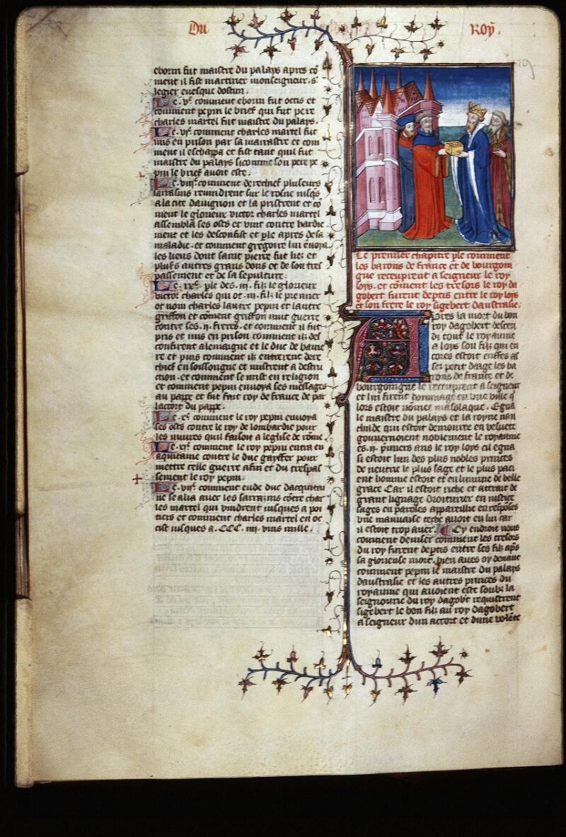 Lyon, Bibl. mun., ms. Palais des Arts 030, f. 075v - vue 1